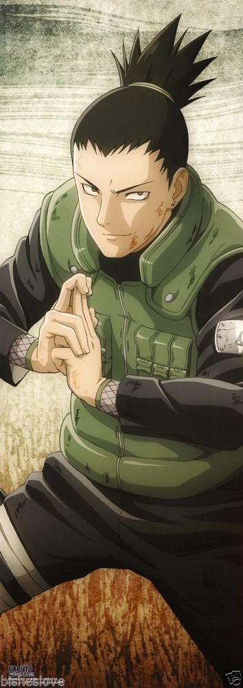 Naruto Shippuden Shikamaru Poster Portrait Anime Official Japan | eBay