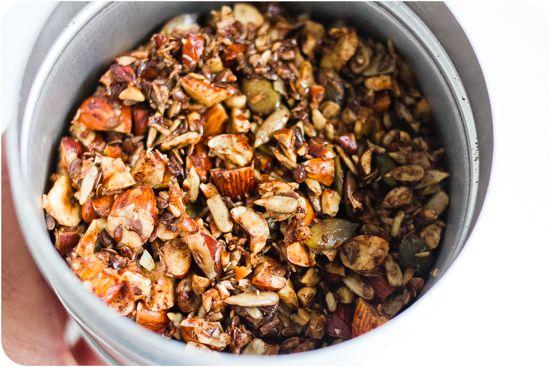 Granola LCHF - 56kilo - inspiration, hälsa och matglädje