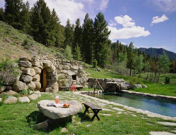 Carole King's Ranch in Idaho | hookedonhouses.net