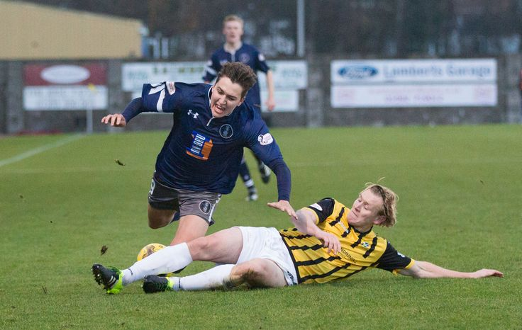 East Fife's Jonathan Page in action during the Ladbrokes League One game between East Fife and Queen's Park.