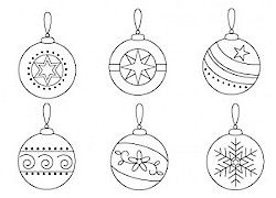 Christmas Ornament Patterns | of The Floss Box blog is sharing these ornament embroidery patterns ...