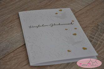 Stampin' Up! beim ZettelZirkus: Goldene Hochzeit, Herzen, Schmetterlinge, Florale Fantasie, Florale Grüße,
