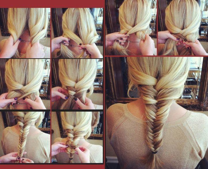 Плетения волос своими руками