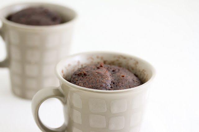 Chocolate Mug Cake   Kirbie's Cravings   A San Diego food blog