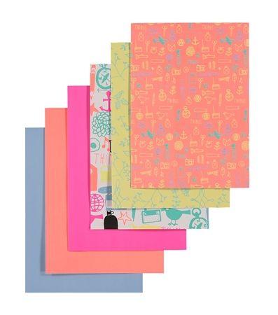 6er-Pack selbstklebendes Papier – HEMA