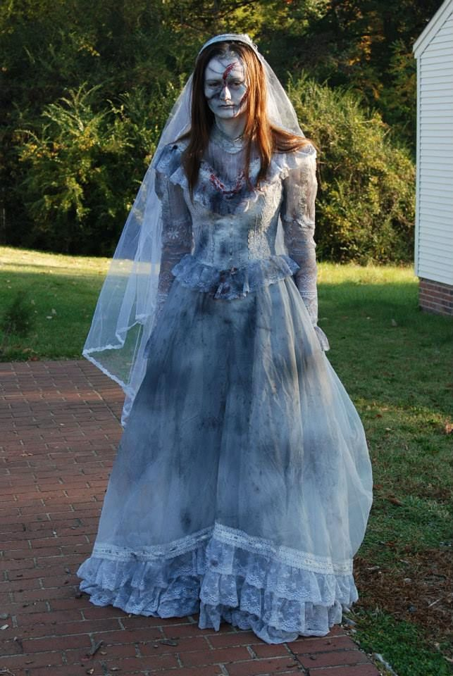 Best 25 Zombie Bride Costume Ideas On Pinterest Zombie Bride