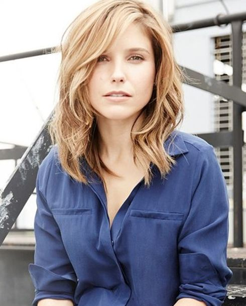 Medium Length Hairstyles 2016 Is Bringing Of Middle Hair In 2018 Pinterest Styles And Shoulder
