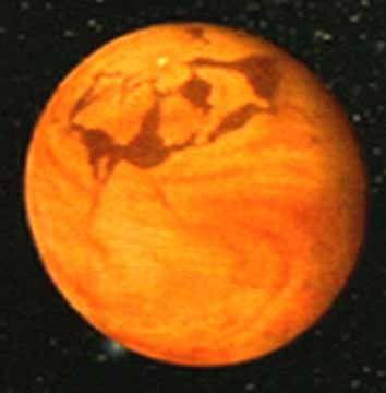 "Arrakis Planitia (Impact basin) - Named after the planet Arrakis in Frank Herbert's sci-fi classic ""Dune"""
