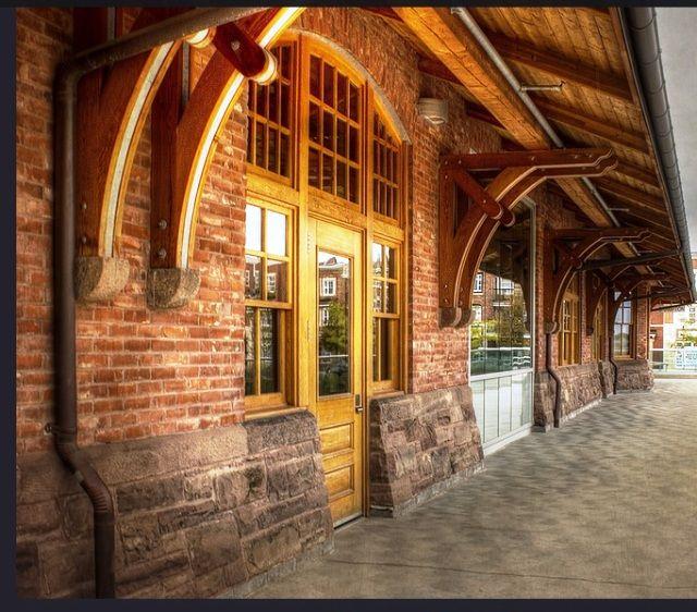 BRAMPTON, Ontario - Canadian Pacific Railway Station