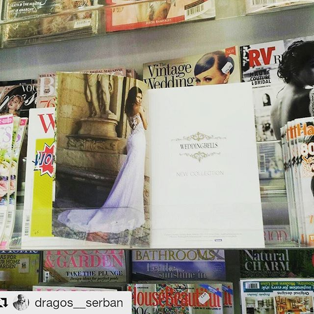 #Repost @dragos__serban with @repostapp ・・・ Am I a narcisist If I love to look at my work in the magzaine stand ? :) #photographer #magazine #brial #wedding #photography #model #designer @annaromysh @weddingbellsvalletta @amyz98x