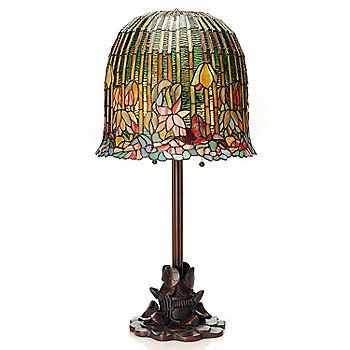 Tiffany Style 29 Quot Pond Lily Dome Shaped Stained Glass