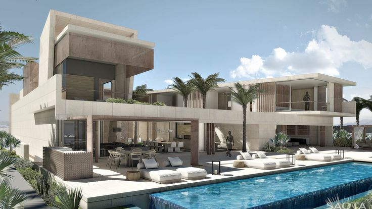 MN Villas: Luxury villas for an exclusive development, the design attempts to infuse the solidity of traditional Arabic life with the vigour and energy...