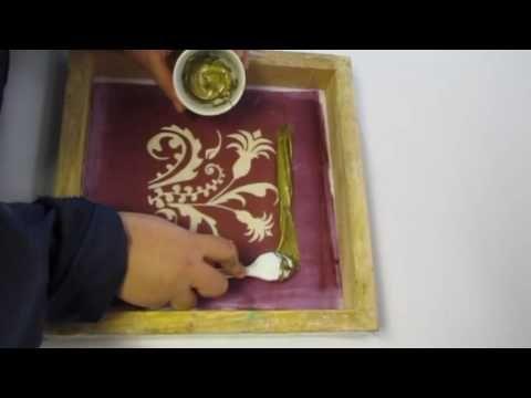 VIDEO PROCESO DE ESTAMPADO CON PLASTISOL – Experimentacion textil artesanal