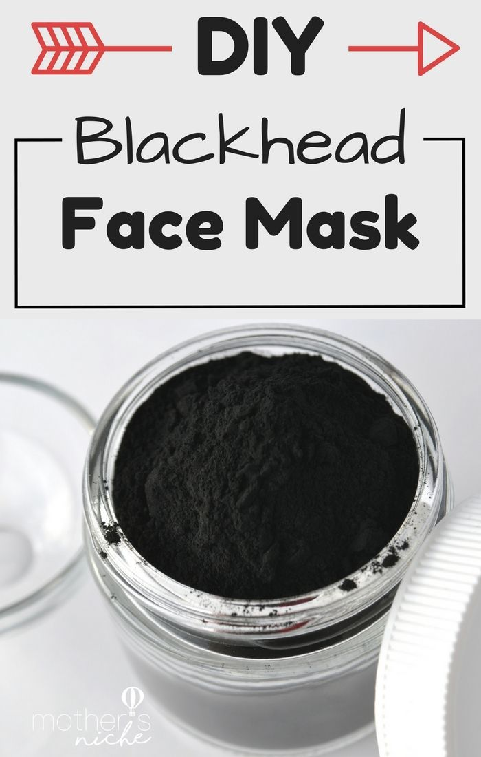 Get rid of blackheads with this super easy DIY Face mask recipe! This homemade face mask only requires TWO ingredients & is the BEST for blackheads on nose!