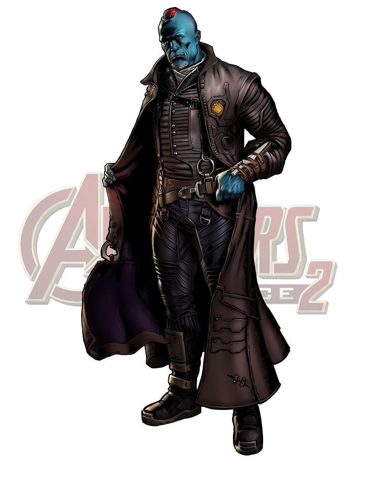 Yondu Hero/Villain Marvel Avengers Alliance 1 & 2