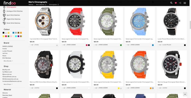 Discover your favorite chronograph. Big selection for men and women on Findoo Australia.