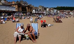 Holidaymakers on Scarborough beach Is the future now looking brighter for beach towns? An influx of holidaymakers and new residents is helping to turn the tide for seaside resorts