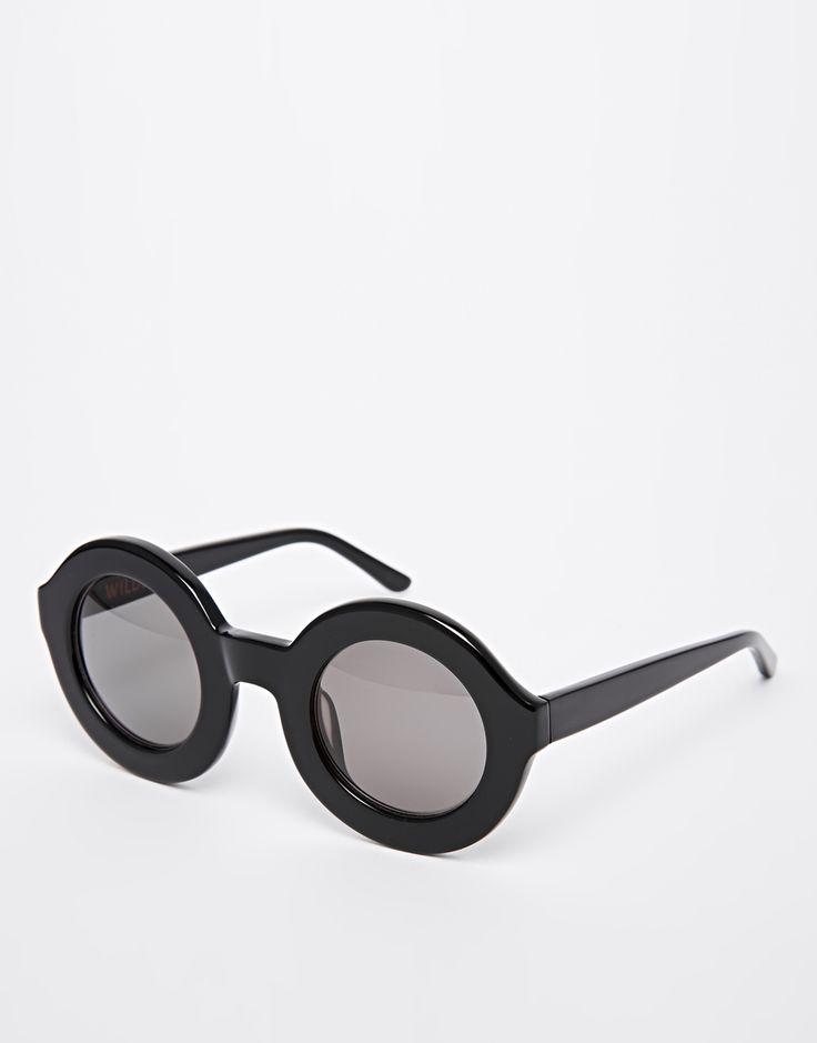 Wildfox Twiggy Round Sunglasses