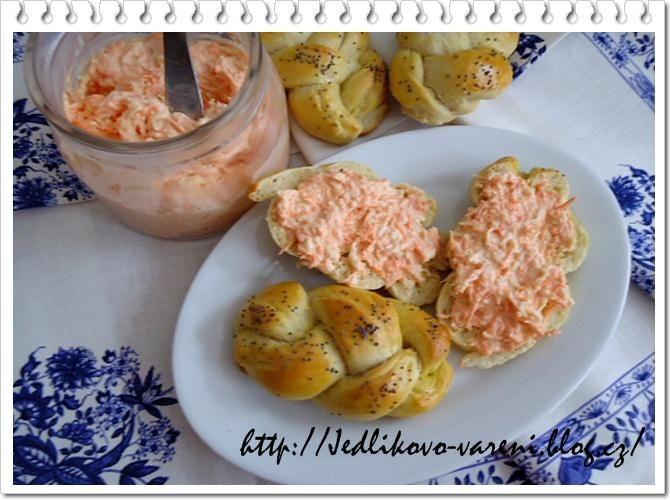 Jedlíkovo vaření: Pomazánky #recept #pomazanka #svacina #mrkev
