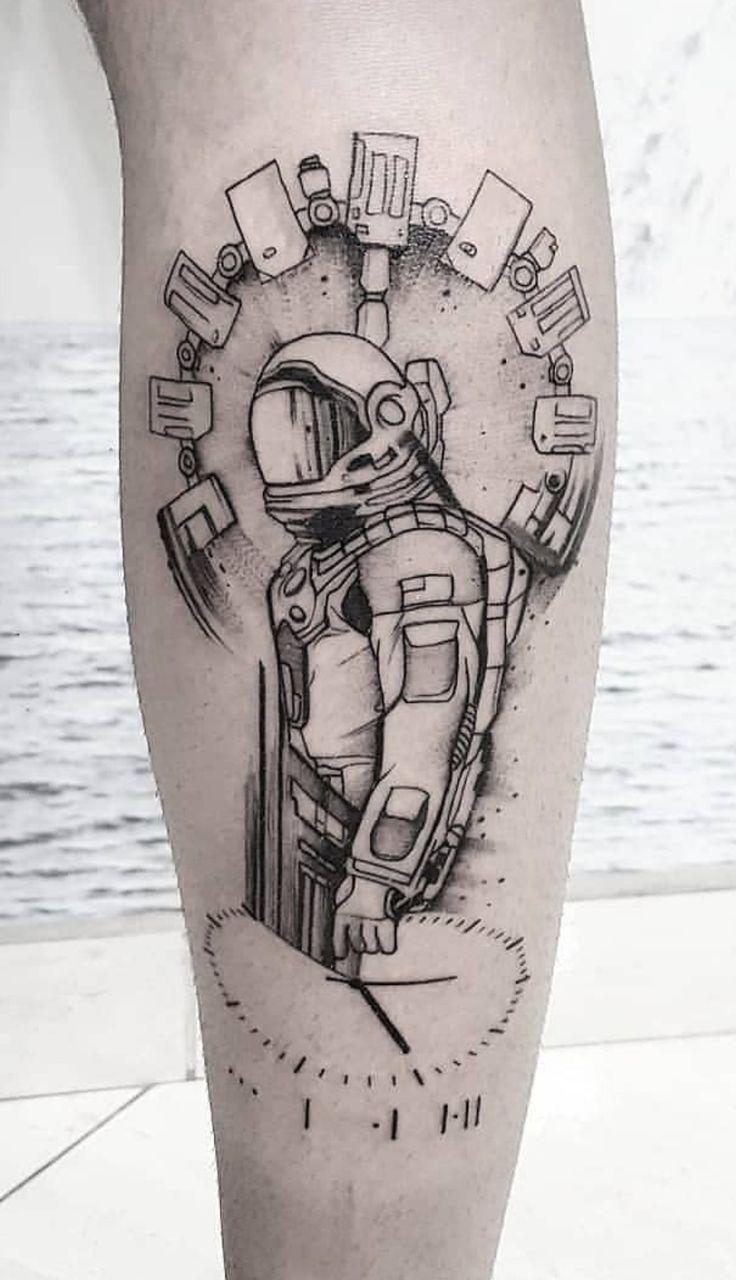 Tatuagem Interstellar Interestellar Tattoo Movie Tattoo Geometrik Dovmeler Dovme Desenleri Astronot Dovme