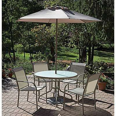 big lots patio furniture clearance sale | Oceanside 5 Piece Patio Set - Photo