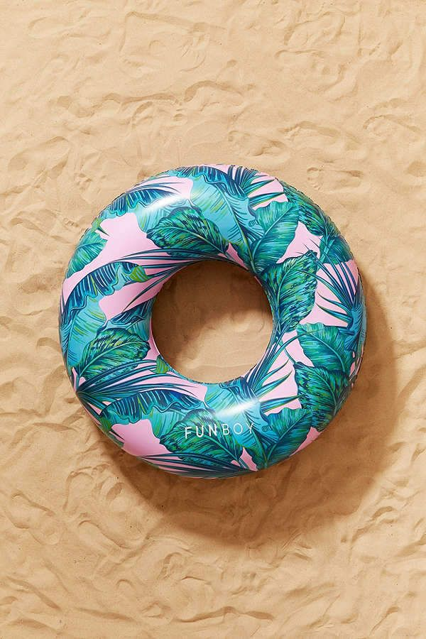 Funboy For Uo Electric Palm Oversized Pool Float Cute