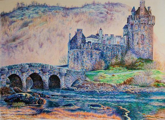 Замок Эйлен-Донан, автор Анна Абрамова. Артклуб Gallerix