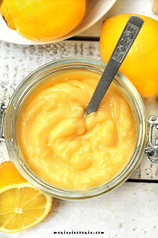 lemon curd, klasyczny lemon curd, angielski krem cytrynowy, krem cytrynowy,