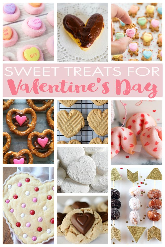 Valentines Day Treats And Desserts