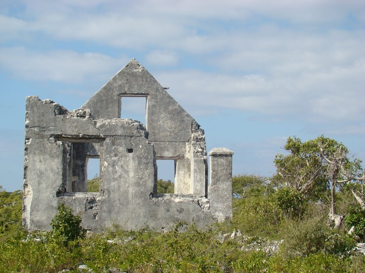 Watling's Castle on San Salvador Bahamas