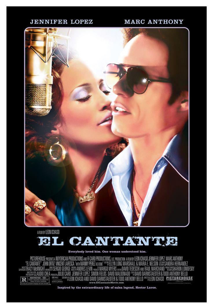"""El Cantante"" (The Singer). (2006). Country: United States. Director: Leon Ichaso. Cast: Marc Anthony, Jennifer Lopez, John Ortiz, Vincent Laresca, Manny Perez, Federico Castelluccio, Nelson Vasquez"
