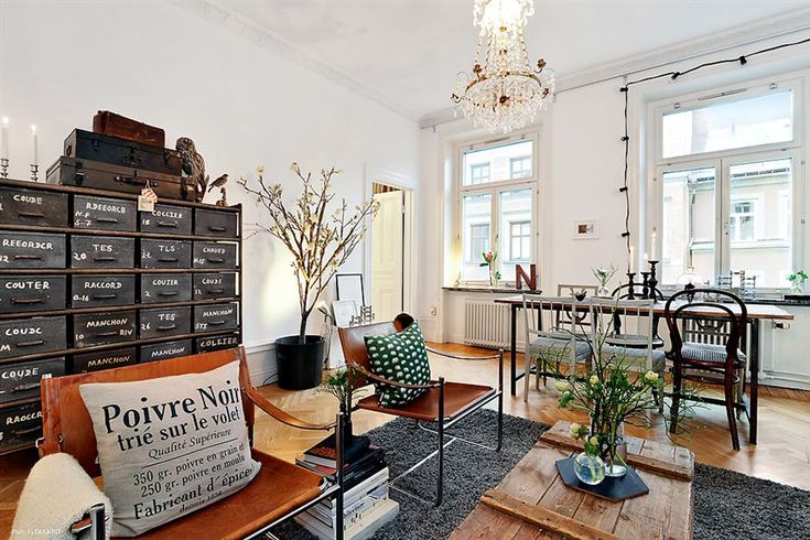 Bois et m tal patin stockholm planete deco a homes world for the home pinterest - Deco moderne woning ...