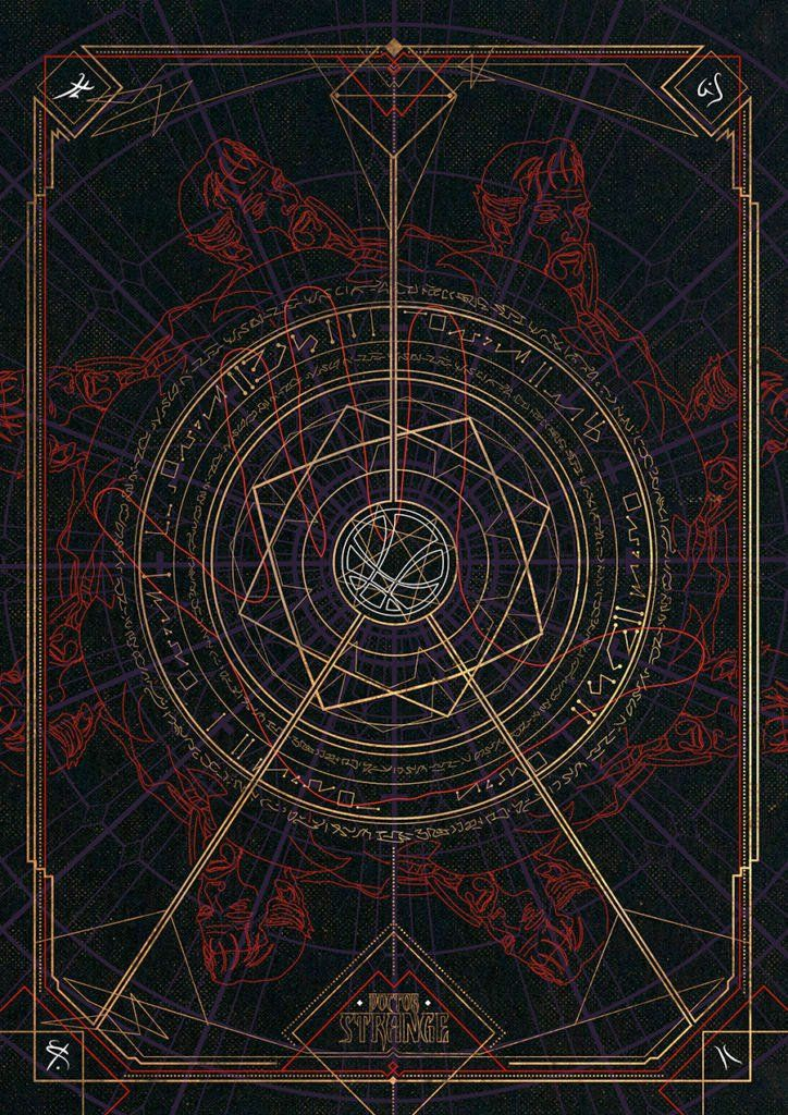 The Poster Posse Doctor Strange Tribute Gets Mystical with Marvel