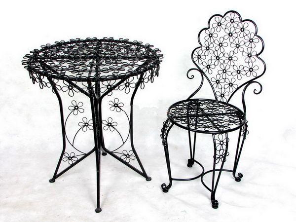 Сварочное железо столы и стулья на открытом воздухе терраса три частей сливовый парк стулья журнальный столик и стулья re бесплатная купить на AliExpress