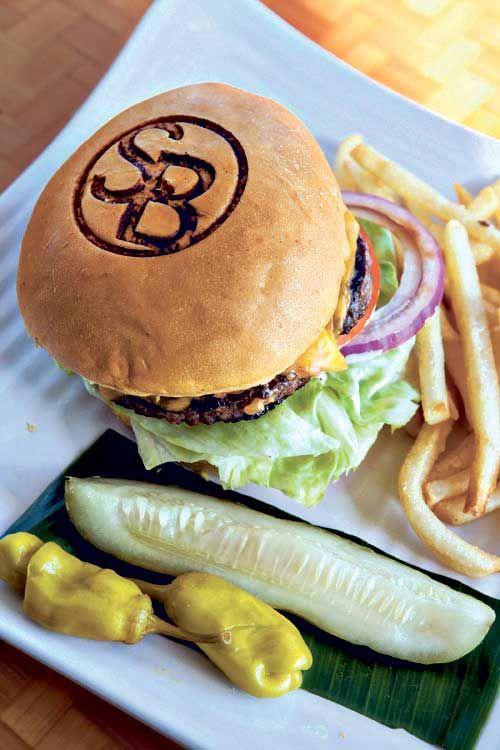 Shore Burger ($10.95)