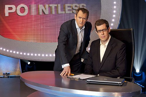 Pointless with Alexander Armstoring and Richard Osman. If you only watch one quiz show make sure it's this one.