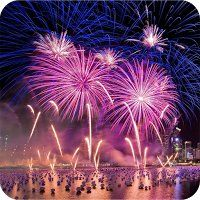 Fireworks is the best Fireworks app with spectacular & amazing shapes & colors, real life-like sound effects & secondary mini explosion.
