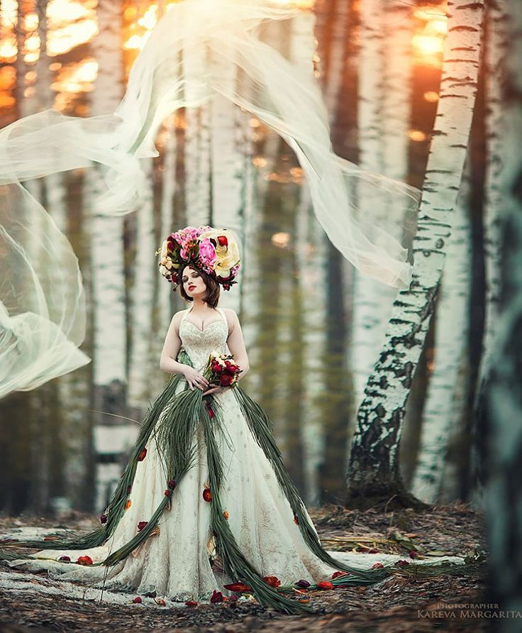 Margarita Kareva is a Russianphotographer who specializes in fantasy art photography. Despite the fact that has taken upphotography just three year