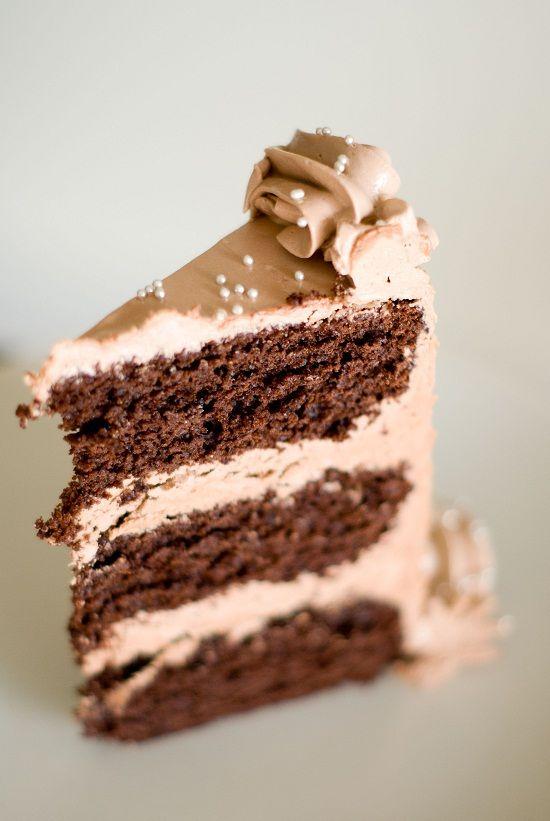 Mon (beau) gâteau d'anniversaire au chocolat (© Lilie Bakery)