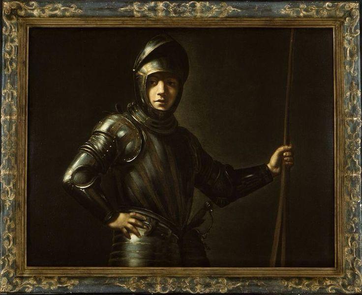Lionello Spada, Un Soldat, 1600-1625, h/t