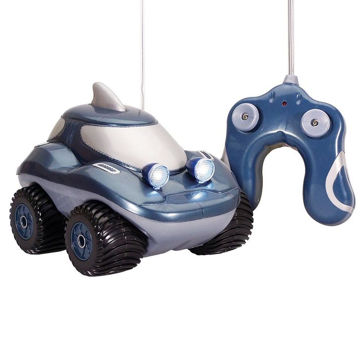Kid Galaxy Morphibians Shark Radio Control Amphibious Vehicle, Multicolor