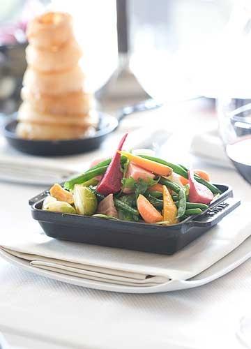 Vegetables...