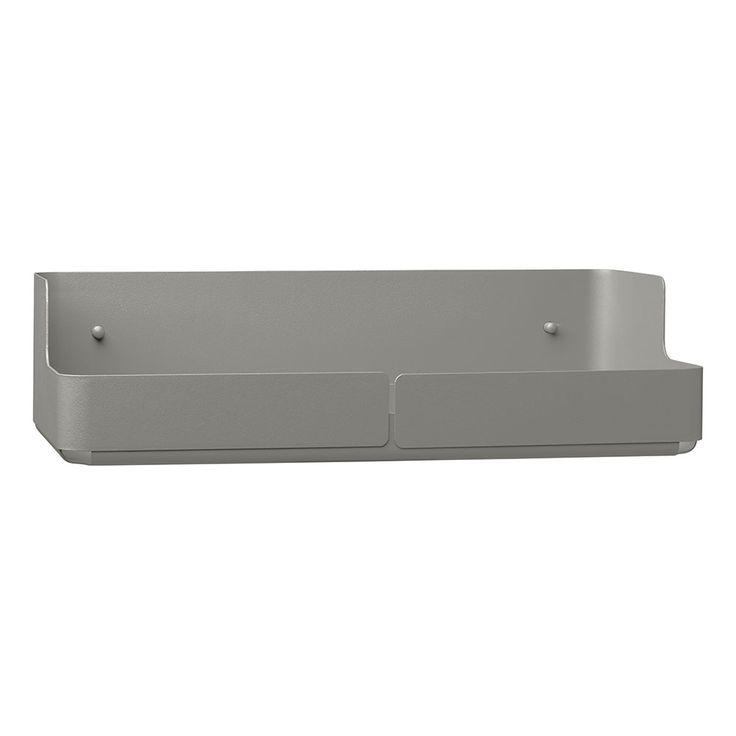 Aitio+Storagebox+36x18x9,5cm,+Grey,+Iittala