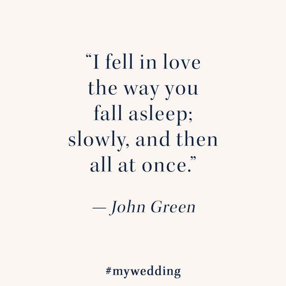 fall in love slowly