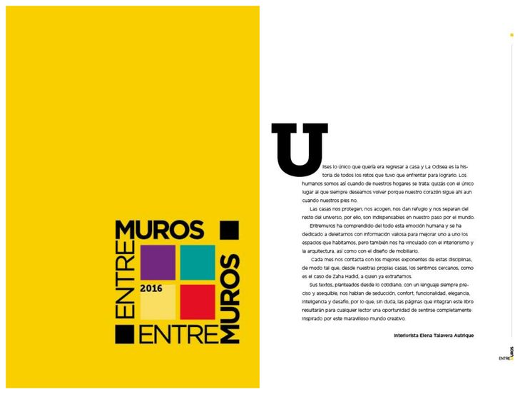Felices de ser parte del Libro de EntreMuros con lo mejor del 2016, en esta ocasión con la Introducción a esta increíble edición.