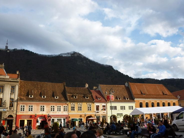 Local life in Brasov, Romania - outstanding.