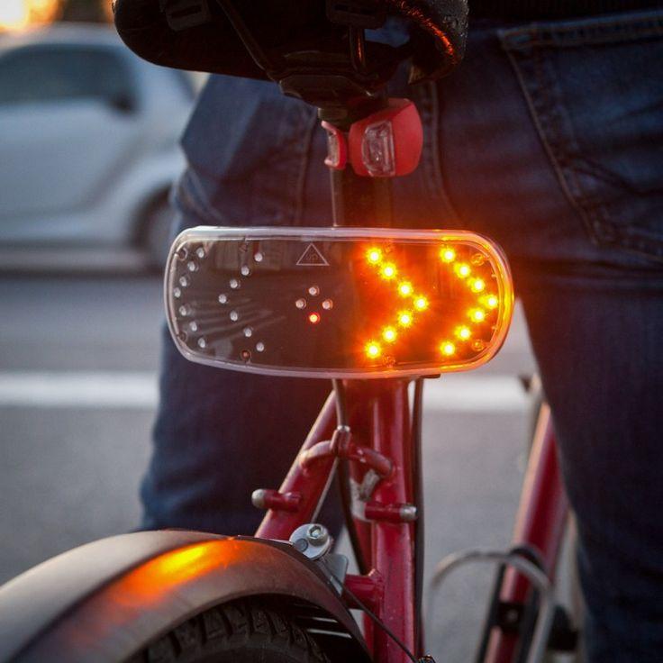 Gadgets - IGGI Signal Pod - Blinkersystem für's Fahrrad - Total kabelloser Richtungsanzeiger.