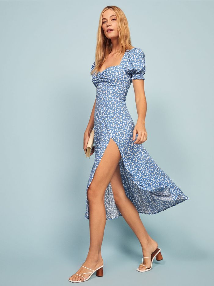 Reformation Lacey Dress In Marie In 2019 Fashion