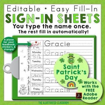 The 25+ best Sign in sheet ideas on Pinterest Preschool sign in - blank sign in sheet
