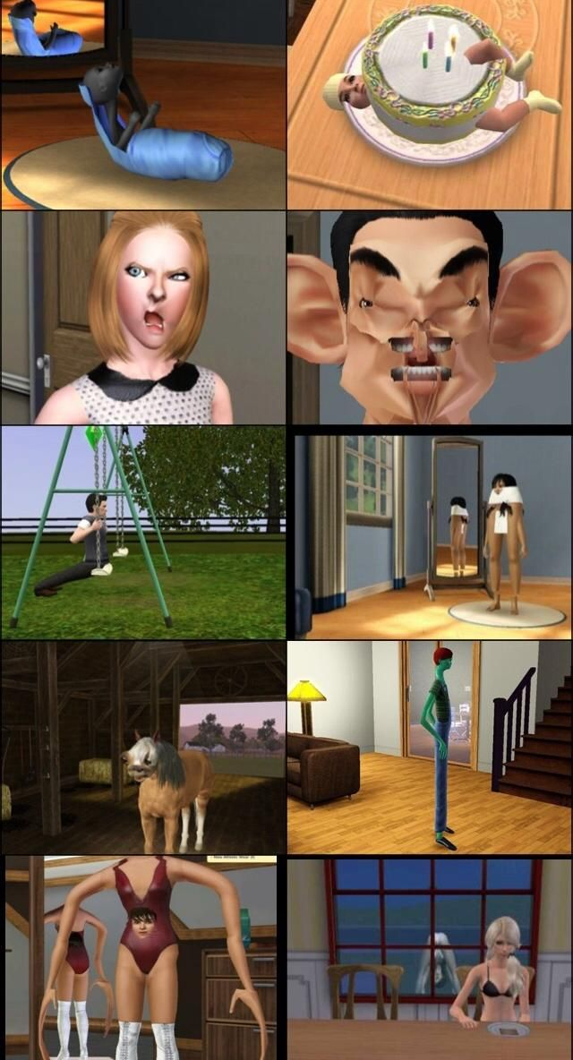 @Lacie Norman Norman Norman Norman Norman Brown please screen shot your Sims game if this happens. I'm dying.